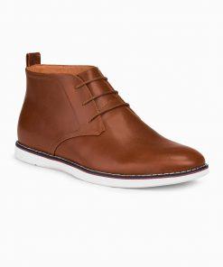 Rudi odiniai batai vyrams internetu pigiau T318 14109-1