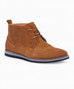 Svesiai rudi odiniai batai vyrams internetu pigiau T331 14111-5