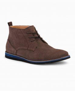 Rudi odiniai batai vyrams internetu pigiau T331 14112-2