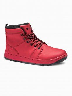 Raudoni sneakers batai vyrams internetu pigiau T311 14136-4