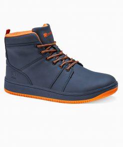 Tamsiai mėlyni sneakers batai vyrams internetu pigiau T311 14137-6