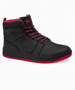 Juodi sneakers batai vyrams internetu pigiau T311 14138-1