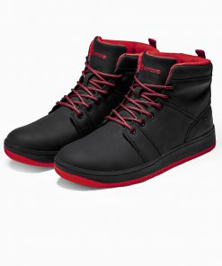 Juodi sneakers vyriski batai internetu pigiau T311 14138-5