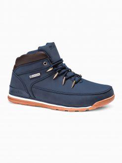 Tamsiai mėlyni laisvalaikio batai vyrams internetu pigiau T313 14142-1