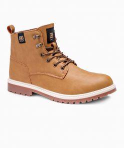 Rusvi žieminiai batai vyrams internetu pigiau T314 14145-4