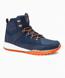 Tamsiai mėlyni žieminiai batai vyrams internetu pigiau T315 14148-5