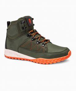Žali žieminiai batai vyrams internetu pigiau T315 14151-2