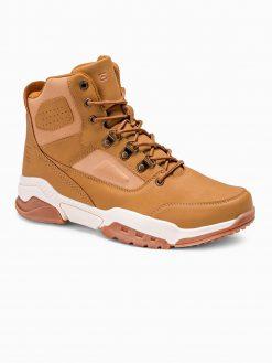 Rusvi žieminiai batai vyrams internetu pigiau T316 14153-3