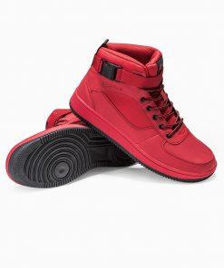 Raudoni batai vyrams internetu pigiau paaukštinti T317 14157-3