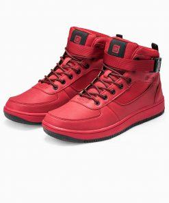 Raudoni vyriski batai internetu pigiau paaukštinti T317 14157-5