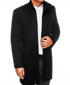 Juodas rudeninis vyriskas paltas internetu pigiau C430 14161-3