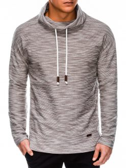 Rusvas vyriškas džemperis internetu pigiau B1013 14163-2