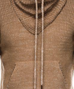 Rusvas vyriskas megztinis internetu pigiau E152 14167-1