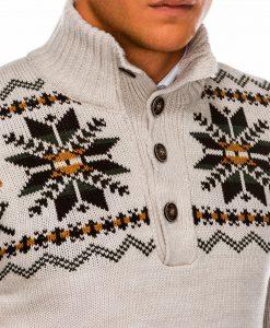 Vyriskas megztinis su elniais internetu pigiau E154 14170-3