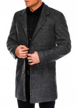 Languotas rudeninis paltas vyrams internetu pigiau C426 14172-4