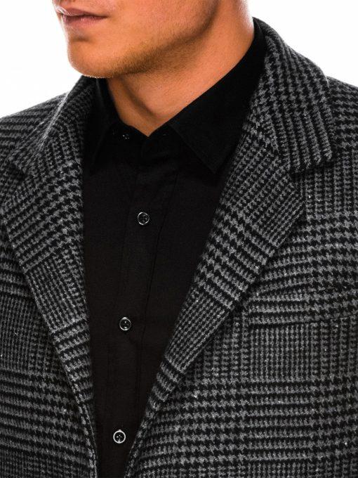 Languotas paltas vyrams internetu pigiau C426 14172-5