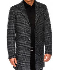 Languotas pilkas rudeninis vyriškas paltas internetu pigiau C426 14172-6