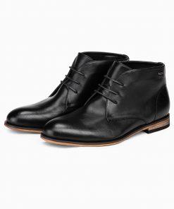 Juodi rudeniniai batai vyrams internetu pigiau T319 14179-4