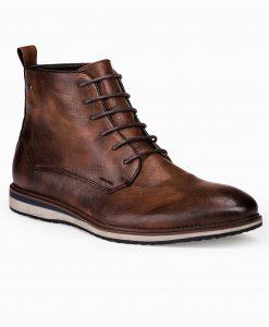 Rudi paaukštinti laisvalaikio batai vyrams internetu pigiau T320 14181-2