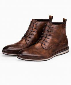 Rudi paaukstinti vyriski laisvalaikio batai vyrams internetu pigiau T320 14181-5