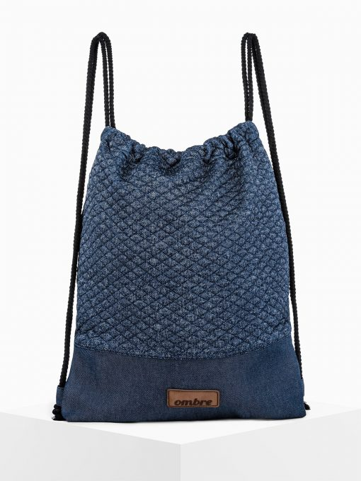 Mėlyna kuprinė maišas vyrams internetu pigiau A250 14186-5