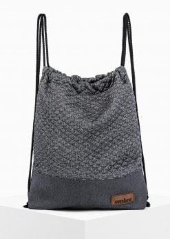 Pilka kuprinė maišas vyrams internetu pigiau A250 14187-1