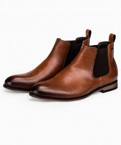 Rudi paaukstinti vyriski rudeniniai batai internetu pigiau T321 14194-1