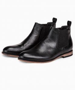 Juodi rudeniniai batai vyrams internetu pigiau T321 14195-1