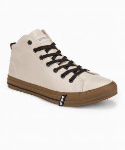 Rusvi paaukštinti laisvalaikio batai vyrams internetu pigiau T330 14209-2