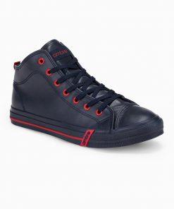 Tamsiai mėlyni paaukštinti laisvalaikio batai vyrams internetu pigiau T330 14210-3