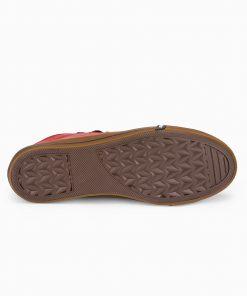 Raudoni pigus batai vyrams internetu pigiau T330 14212-1