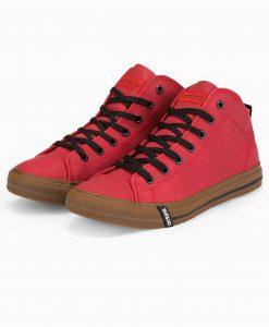 Raudoni paaukstinti vyriski laisvalaikio batai internetu pigiau T330 14212-4