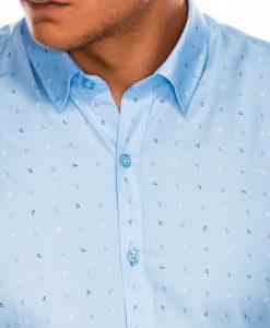 Stilingi vyriški marškiniai ilgomis rankovėmis internetu pigiau K465 13625-4