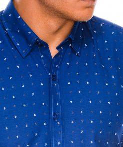 Stilingi vyriški marškiniai ilgomis rankovėmis internetu pigiau K465 13626-4