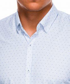 Balti vyriški marškiniai ilgomis rankovėmis internetu pigiau K466 13627-3