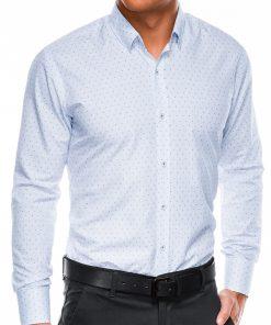 Vyriški marškiniai ilgomis rankovėmis internetu pigiau K466 13627-4