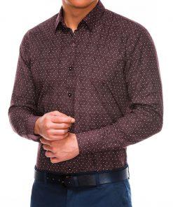 Stilingi vyriški marškiniai ilgomis rankovėmis internetu pigiau K466 13628-1