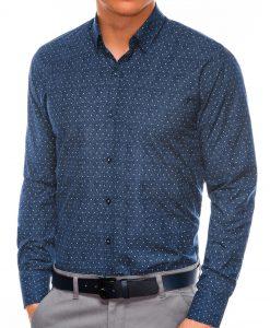 Vyriški marškiniai ilgomis rankovėmis internetu pigiau K466 13629-1