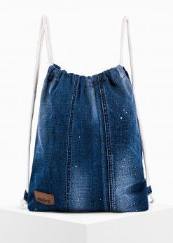 Mėlyna kuprinė maišas vyrams internetu pigiau A251 14253-1