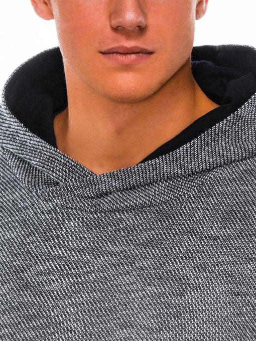 Vyriški džemperiai su gobtuvu internetu pigiau B1018 14257-5