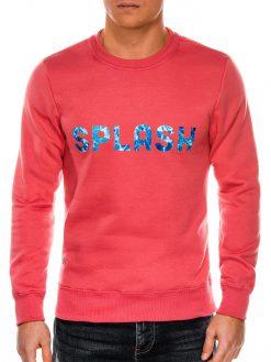 Koralinis vyriškas džemperis internetu pigiau B988 14269-2