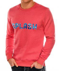 Koralinis džemperis vyrams internetu pigiau B988 14269-3