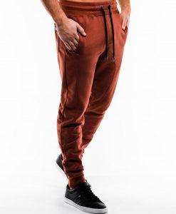 Rudos spalvos sportinės kelnės vyrams internetu pigiau P867 14272-5