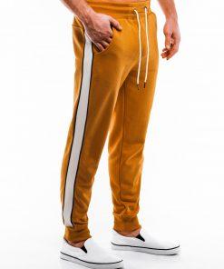 Geltonos sportinės kelnės vyrams internetu pigiau P865 14277