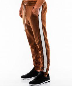 Rudos sportinės kelnės vyrams internetu pigiau P865 14280