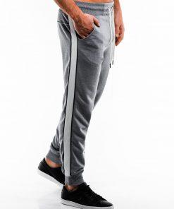 Pilkos sportinės kelnės vyrams internetu pigiau P865 14281