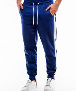 Mėlynos sportinės kelnės vyrams internetu pigiau P865 14282