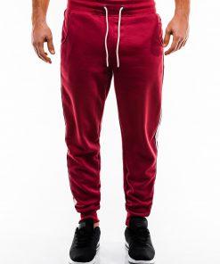 Raudonos sportines kelnes vyrams internetu pigiau P865 14284-4