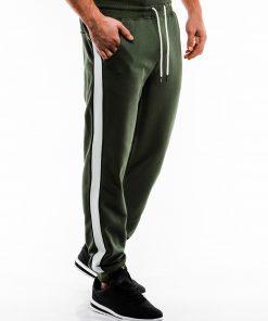 Žalios sportinės kelnės vyrams internetu pigiau P865 14285