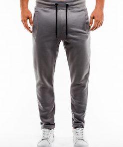 Pilkos sportinės kelnės vyrams internetu pigiau P866 14290